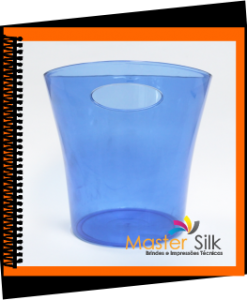 Balde de Gelo Azul - Master Silk