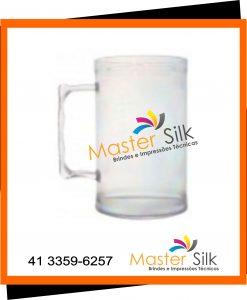 Caneca de chopp - Master silk - Copos Curitiba - cristal
