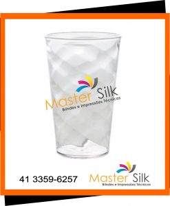Copo Twister - Master silk - Copos Curitiba - Cristal