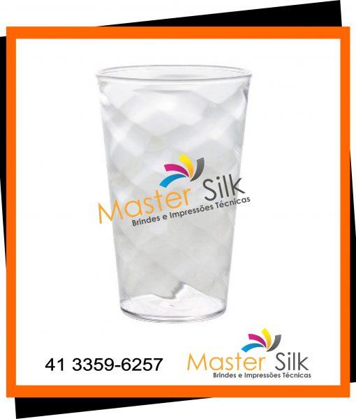 Copo Twister – Master silk – Copos Curitiba – Cristal