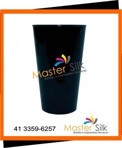Copo Twister - Master silk - Copos Curitiba - Preto