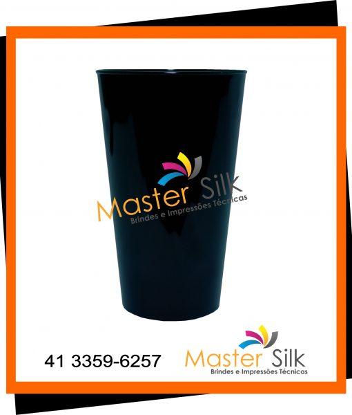 Copo Twister – Master silk – Copos Curitiba – Preto