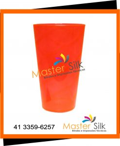 Copo Twister - Master silk - Copos Curitiba - vermelho